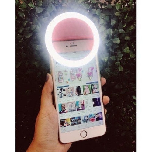 Đèn led selfie kẹp điện thoại