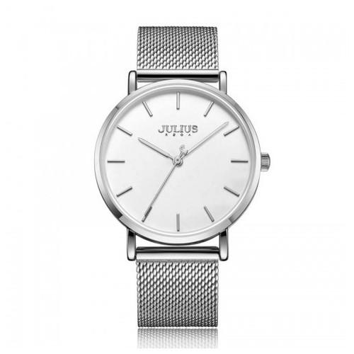 Đồng hồ julius ja  nam 1164ma dây thép bạc