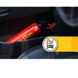 Bình chữa cháy mini dùng cho ô tô Fire beater bột ABC