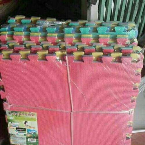 Combo 5bộ 30miếng thảm xốp nhiều màu kt 60x60