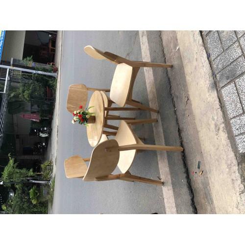 Bàn ghế gỗ quán cafe giá rẻ