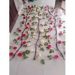 Dây leo giả - Dây Hoa hồng cổ dài 3 mét