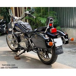 Cặp thùng hông xe máy, xe motor có đèn rộng 14cm