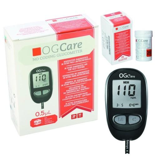 Máy đo đường huyết ogcare tặng 2 hộp que thử 25 test - 18091654 , 22714693 , 15_22714693 , 829000 , May-do-duong-huyet-ogcare-tang-2-hop-que-thu-25-test-15_22714693 , sendo.vn , Máy đo đường huyết ogcare tặng 2 hộp que thử 25 test