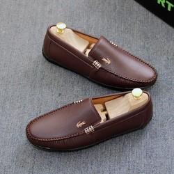 Giày lười nam, giày da nam cá sấu cao cấp [Được kiểm hàng trước khi thanh toán]