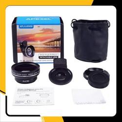 Lens Macro chụp hình cận cảnh và góc rộng cho điện thoại APEXEL APL-0.45WM