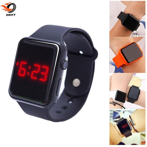 Dr led watch silicone watch electronic digital gifts product children fashion jchac