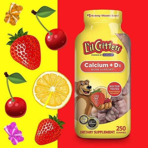 Thực phẩm bổ sung kẹo dẻo l'il critters calcium + vitamin d3 - hàng nhập khẩu usa - 18081672 , 22702285 , 15_22702285 , 500000 , Thuc-pham-bo-sung-keo-deo-lil-critters-calcium-vitamin-d3-hang-nhap-khau-usa-15_22702285 , sendo.vn , Thực phẩm bổ sung kẹo dẻo l'il critters calcium + vitamin d3 - hàng nhập khẩu usa