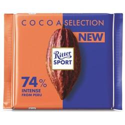 Socola đen 74 cacao Ritter Sport 100g