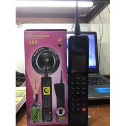Điện thoại Kechaoda 888 3 sim có chức năng sạc pin cho máy khác Loa to pin Khủng kiểu dáng bộ đàm Bảo hành 12 tháng