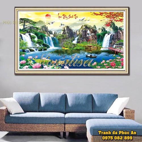 Tranh phong cảnh lv029-200x98cm
