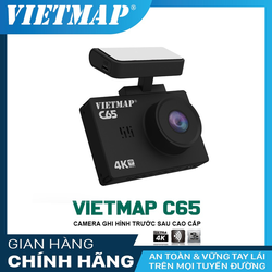 Camera hành trình Vietmap C65- ghi hình 4K kết hợp camera sau Full HD  1080p trang bị cảm biến ảnh Sony Starvis
