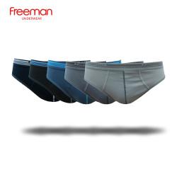 Quần lót nam Cotton Freeman [combo 5 quần - Hàng chính hãng Freeman] 6039