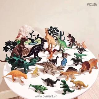 hộp đồ chơi bộ sưu tập khủng long - đồ chơi dành cho trẻ em mới nhất 2019 - do choi12 thumbnail