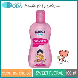 Nước hoa cho bé Panda Baby Cologne Sweet Floral 100ml - PASW01 thumbnail