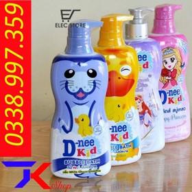 Tắm gội toàn thân D-Nee kids 400ml - 050