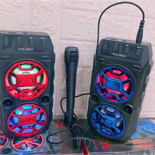 Loa karaoke mini kts 1062 lớn hơn 1036 có kèm mic có echo - 18133623 , 22766027 , 15_22766027 , 199000 , Loa-karaoke-mini-kts-1062-lon-hon-1036-co-kem-mic-co-echo-15_22766027 , sendo.vn , Loa karaoke mini kts 1062 lớn hơn 1036 có kèm mic có echo