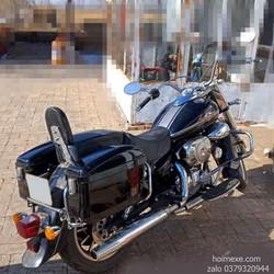 Cặp Thùng Hông Xe Máy, Xe Motor Loại Vuông Rộng 17cm.