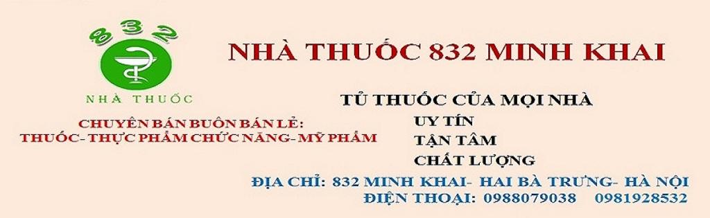 Nhà Thuốc 832