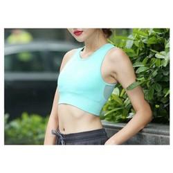 Áo bra lưới vai tập Gym yoga khỏe khoắn thời trang