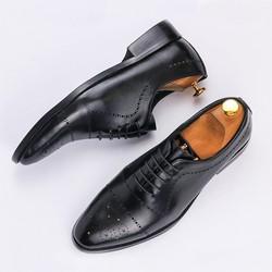 Giày da Oxford nam mới 2019
