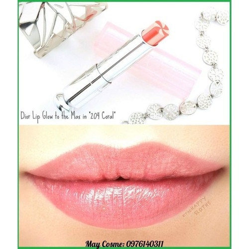 Son dưỡng d.ior addict lip glow to the max 204 coral - 17092704 , 22750213 , 15_22750213 , 950000 , Son-duong-d.ior-addict-lip-glow-to-the-max-204-coral-15_22750213 , sendo.vn , Son dưỡng d.ior addict lip glow to the max 204 coral
