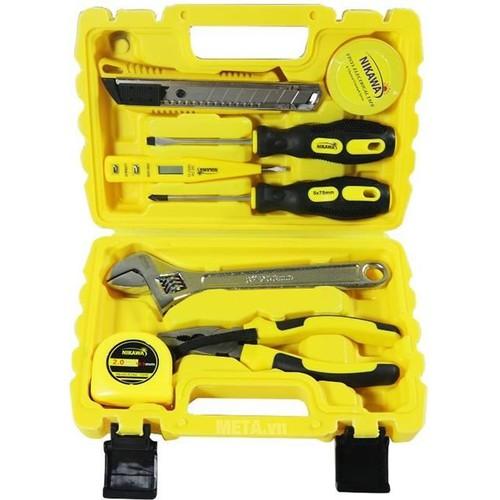 Bộ dụng cụ nikawa tools  8 món nk-bs008 - 18131629 , 22763383 , 15_22763383 , 285000 , Bo-dung-cu-nikawa-tools-8-mon-nk-bs008-15_22763383 , sendo.vn , Bộ dụng cụ nikawa tools  8 món nk-bs008