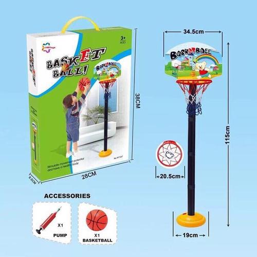 Bộ đồ chơi bóng rổ cho bé - giúp phát triển chiều cao và trí tuệ - 20243269 , 22738864 , 15_22738864 , 200000 , Bo-do-choi-bong-ro-cho-be-giup-phat-trien-chieu-cao-va-tri-tue-15_22738864 , sendo.vn , Bộ đồ chơi bóng rổ cho bé - giúp phát triển chiều cao và trí tuệ