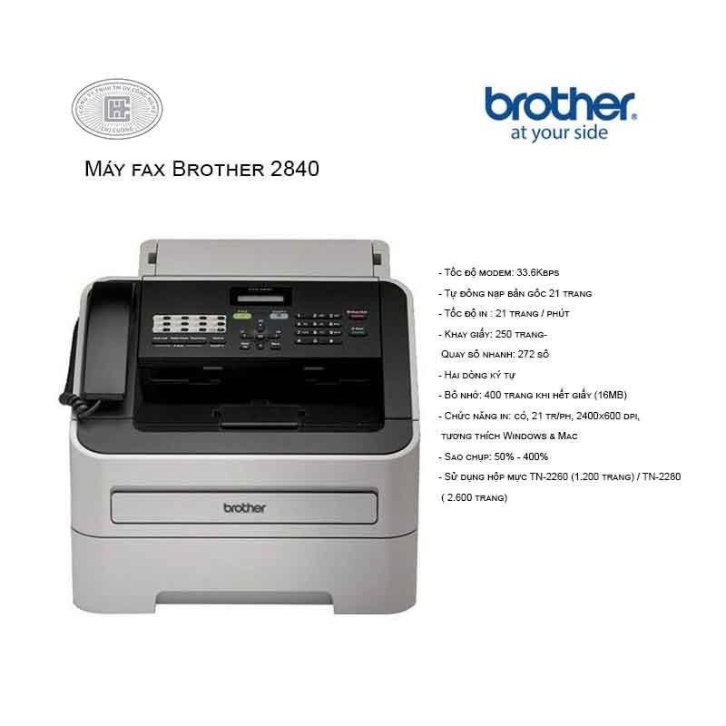 Máy fax Brother 2840 - 2840