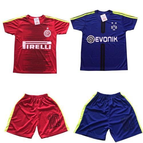 Sét 2 bộ đồ thể thao trẻ em, áo đấu câu lạc bộ dành cho bé trai và bé gái, thời trang thun lạnh cho bé từ 10-40kg- 2 màu khác - 17561201 , 22740945 , 15_22740945 , 140000 , Set-2-bo-do-the-thao-tre-em-ao-dau-cau-lac-bo-danh-cho-be-trai-va-be-gai-thoi-trang-thun-lanh-cho-be-tu-10-40kg-2-mau-khac-15_22740945 , sendo.vn , Sét 2 bộ đồ thể thao trẻ em, áo đấu câu lạc bộ dành cho b
