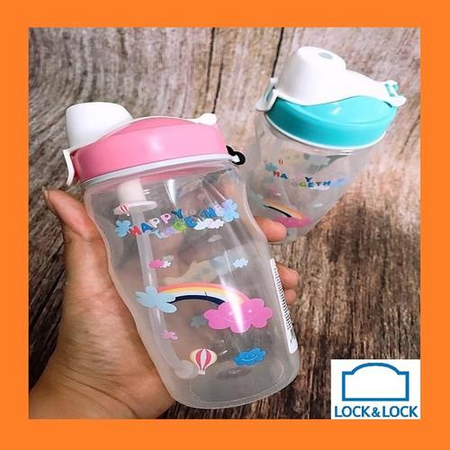 Bình nước lock & lock 350ml có ống hút silicon cho bé - bình nhựa trẻ em tập uống nước chống sặc - 18132934 , 22764970 , 15_22764970 , 95000 , Binh-nuoc-lock-lock-350ml-co-ong-hut-silicon-cho-be-binh-nhua-tre-em-tap-uong-nuoc-chong-sac-15_22764970 , sendo.vn , Bình nước lock & lock 350ml có ống hút silicon cho bé - bình nhựa trẻ em tập uống nước c