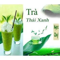 Trà Thái Xanh 200gr - nguyên liệu trà sữa