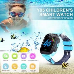 Đồng hồ định vị trẻ em GPS Wifi chống nước cao cấp pin lâu