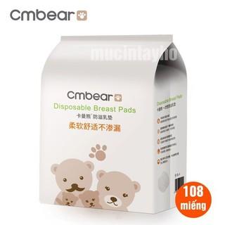 Lót thấm sữa cmbear bịch 108 miếng - LCMB108 thumbnail