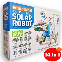 Bộ đồ chơi lắp ráp năng lượng mặt trời 14 in 1 -  Solar Robot KIT