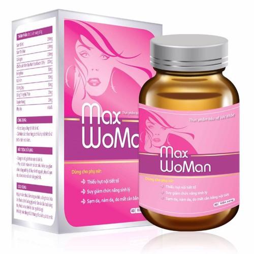 Viên uống cân bằng nội tiết tố nữ max woman lọ 40 viên - 20242607 , 22737972 , 15_22737972 , 295000 , Vien-uong-can-bang-noi-tiet-to-nu-max-woman-lo-40-vien-15_22737972 , sendo.vn , Viên uống cân bằng nội tiết tố nữ max woman lọ 40 viên