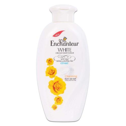 Sữa tắm trắng và dưỡng ẩm có hạt enchanteur charming chai 180g - 18130878 , 22762078 , 15_22762078 , 53000 , Sua-tam-trang-va-duong-am-co-hat-enchanteur-charming-chai-180g-15_22762078 , sendo.vn , Sữa tắm trắng và dưỡng ẩm có hạt enchanteur charming chai 180g