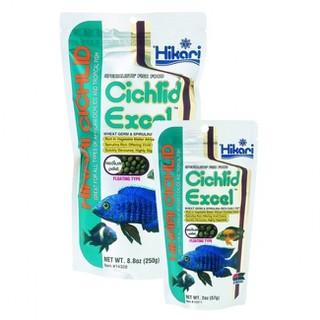 Thức ăn cho cá Hikari Cichlid Excel hạt nổi - gói 250g [ĐƯỢC KIỂM HÀNG] 22779682 - 22779682 thumbnail