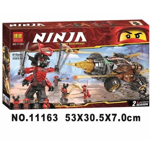 Hộp đồ chơi ráp hình ninjago 11163