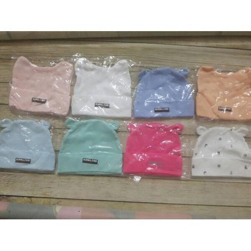 Mũ cotton cho bé sơ sinh