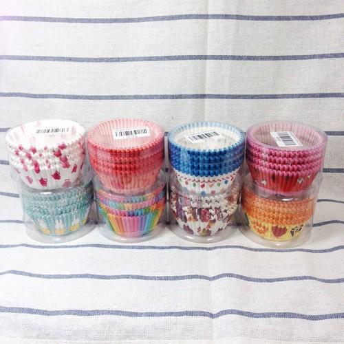 100 cupcake giấy 7cm mềm