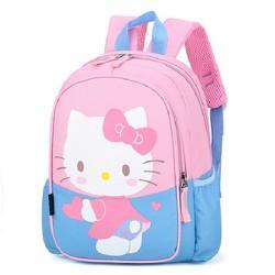 Balo trẻ em cho bé mẫu giáo  hình Hello Kitty 3 màu lựa chọn