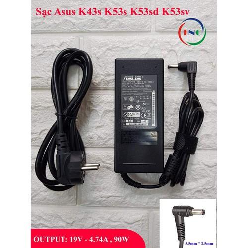 Sạc laptop asus k43s k53s k53sd k53sv output 19v 4.74a, 90w chân thường kích thước 5.5mm * 2.5mm nhập khẩu - 18149359 , 22787341 , 15_22787341 , 110000 , Sac-laptop-asus-k43s-k53s-k53sd-k53sv-output-19v-4.74a-90w-chan-thuong-kich-thuoc-5.5mm-2.5mm-nhap-khau-15_22787341 , sendo.vn , Sạc laptop asus k43s k53s k53sd k53sv output 19v 4.74a, 90w chân thường kích