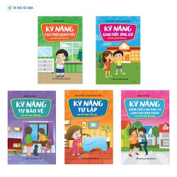 Sách kỹ năng - Trọn bộ Kỹ năng sống cho học sinh tiểu học - 5 cuốn