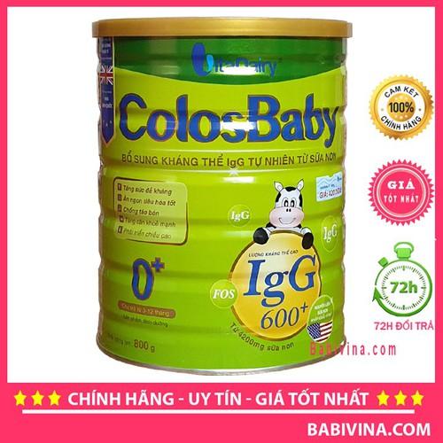 [Cho xem hàng] sữa bột colosbaby 0+ 800g 600lgg - 18136714 , 22770113 , 15_22770113 , 390000 , Cho-xem-hang-sua-bot-colosbaby-0-800g-600lgg-15_22770113 , sendo.vn , [Cho xem hàng] sữa bột colosbaby 0+ 800g 600lgg