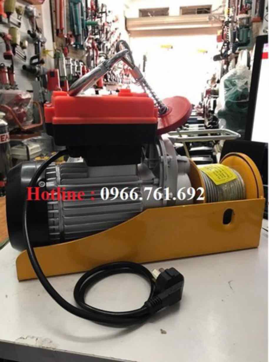 máy tời điện lắp điều khiển từ xa pa600 - máy tời điện có điều khiển