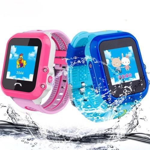 Đồng hồ thông minh trẻ em df31 gắn sim nghe gọi chống nước