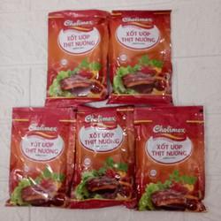 Xốt  ướp thịt nướng  cholimex combo 5  gói