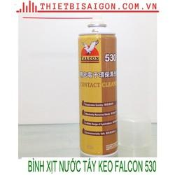 Bình xịt tẩy keo falcon 530 chai lớn 550ml