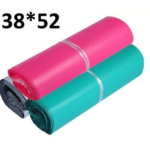 Bịch 100 túi niêm phong đóng gói hàng nhiều màu kích thước 38*52